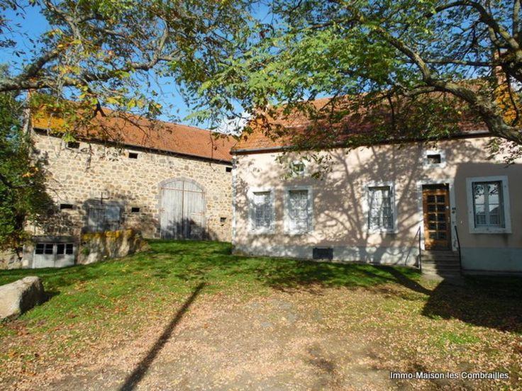 Div. woningen en bijgebouwen met ongeveer 15000m² grond, Malicorne, Allier€140000