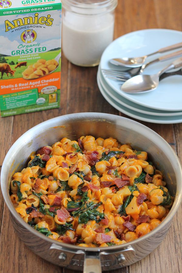 Packed with pumpkin, apple and bacon, this delicious take on classic mac &…