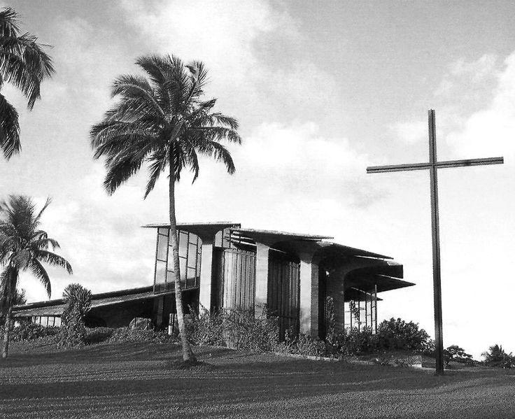 Igreja do Centro Administrativo da Bahia - Salvador - Bahia, Brazil / João Filgueiras Lima (Lelé)