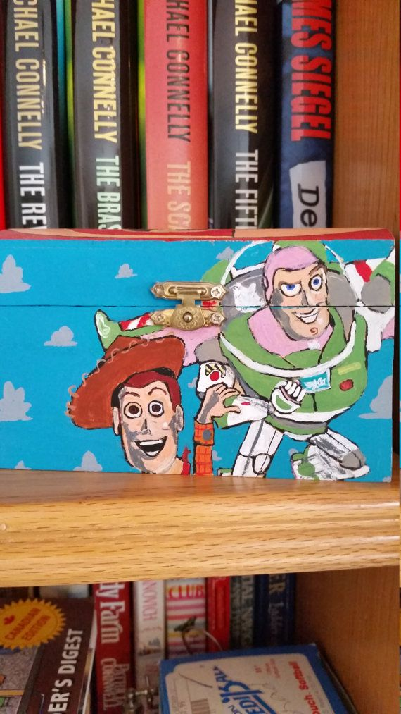 Check out this item in my Etsy shop https://www.etsy.com/ca/listing/470153563/hand-painted-box-of-animated-characters