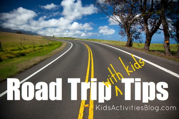 Road trip road with kids tips road