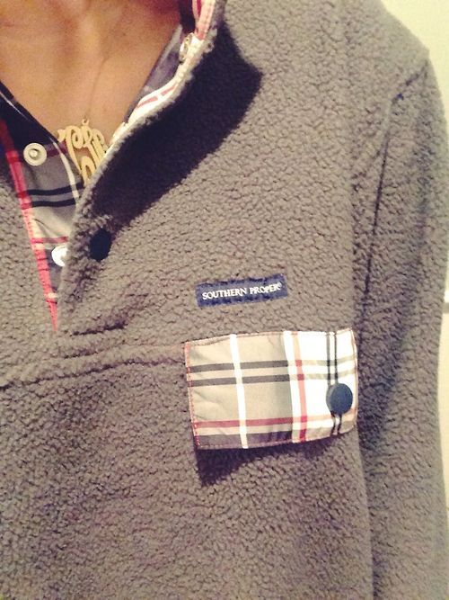 fleece & plaid. my favorite winter combination.