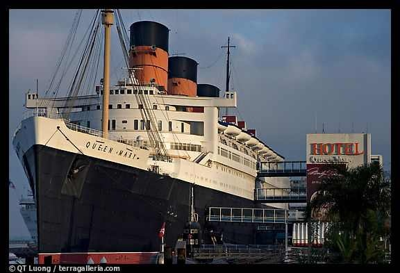 The Queen Mary Cruise Ship in Long Beach, Ca.: Mary Long, Mary Hotels, Queens, The Angel, The Queen, Queen Mary, Haunted Places, Travel, Long Beaches California