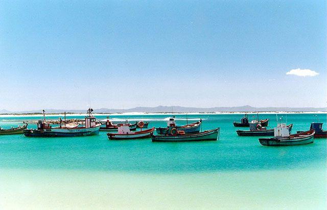 Struisbaai Harbour - beautiful, peaceful - the bluest water ever!