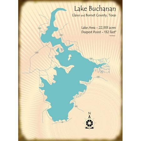 1000 images about texas the maps on pinterest lakes for Lake buchanan fishing