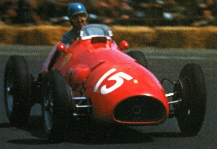 1952 GP Wielkiej Brytanii (Alberto Ascari) Ferrari 500