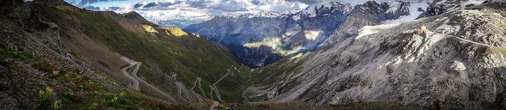 Włochy - Szwajcaria - panorama