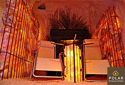 POLARPRODUCTS.PL | Kameralnie,prywatnie miej swoją własną Grotę Solną. Nie wymaga dużej powierzchni już od 6 m2.