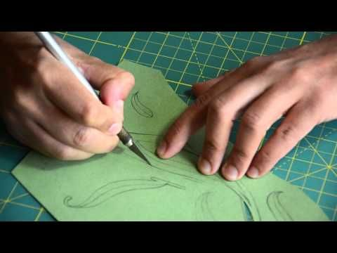 Incredible process of creating a paper sculpture...by Carlos Meira. ▶ Carlos Meira - paper sculpture - escultura em papel - YouTube
