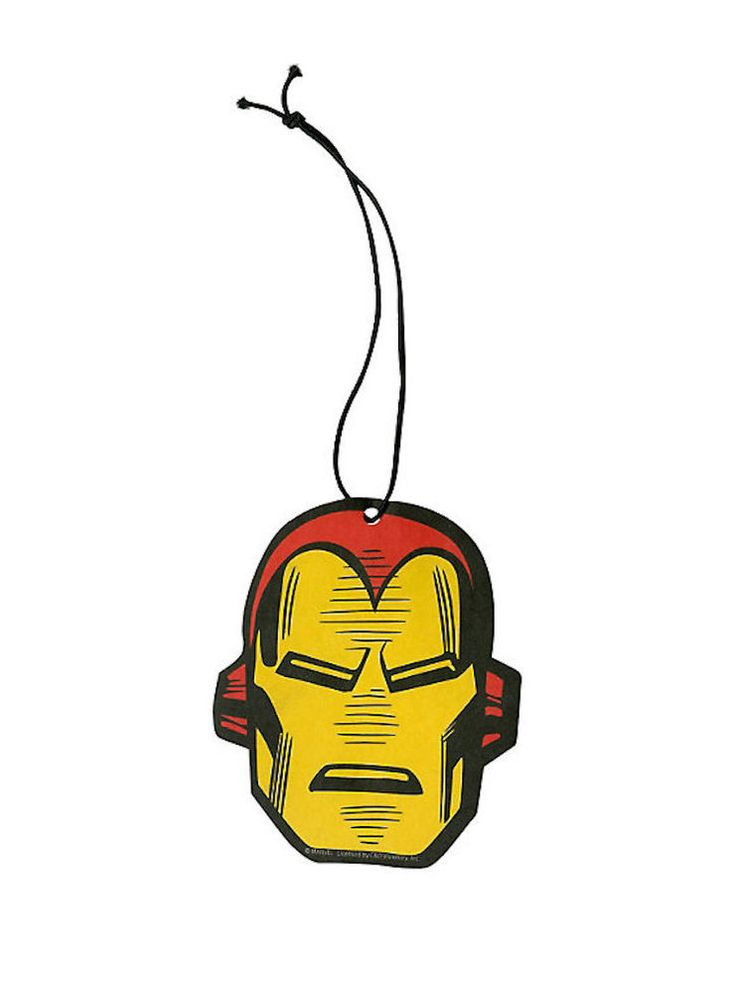 Iron Man Strawberry Scent Car Auto Office Air Freshener - Marvel Comics #MarvelComics