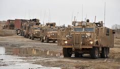 A Combat Logistic Patrol (CLP) consisting of EPLS (Enhanced Palletised Load System), Combat Support Tankers (CST), Support Vehicle Recovery (SVR), Mastiffs and Ridgebacks in convoy in Helmand Province, Afghanistan. 1 Logistic Support Regiment (1 LSR) provides logistic close and general support to 20th Armoured Brigade, supplying and distributing everything British troops need. 1 LSR currently provides the Close Support Logistic Regiment (CSLR) in Afghanistan on Operation HERRICK 15. Its…