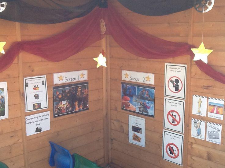 Cinema role-play area