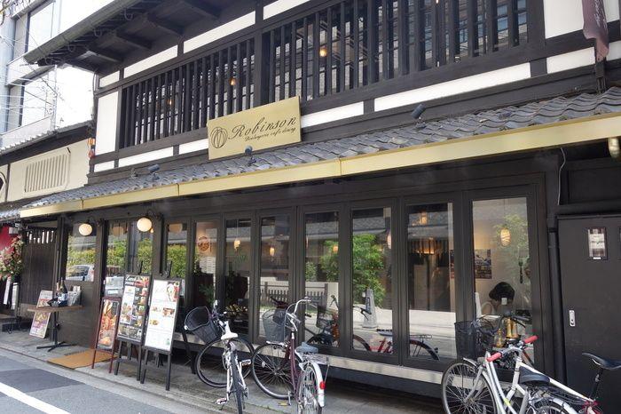 京町屋建物のイタリアンレストラン