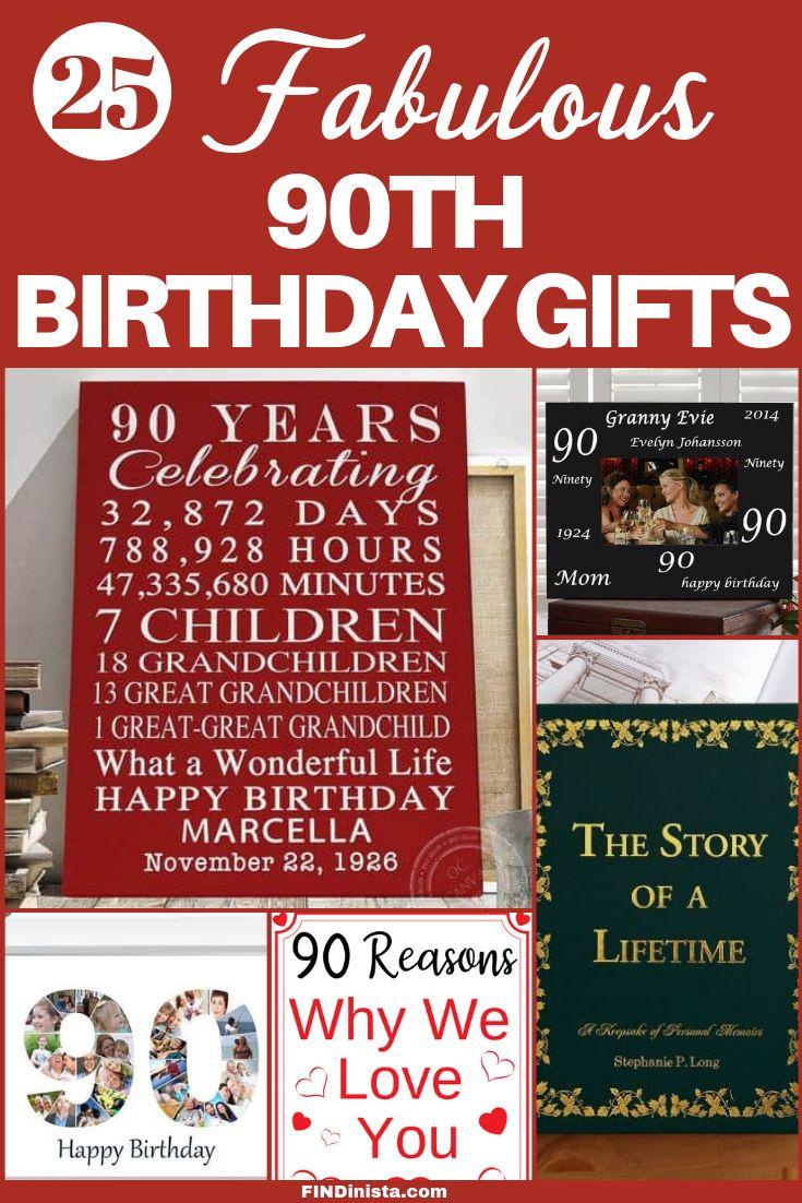 90th birthday gift ideas 90th birthday 90th birthday