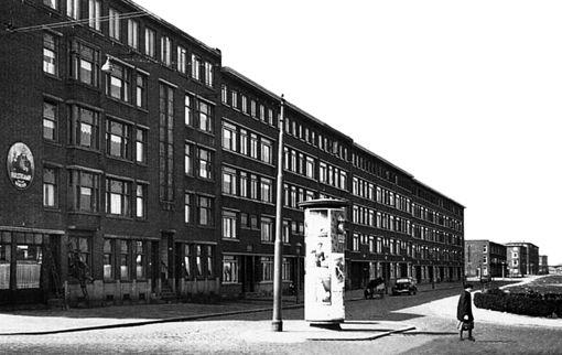 Gordelweg Bergweg 1949