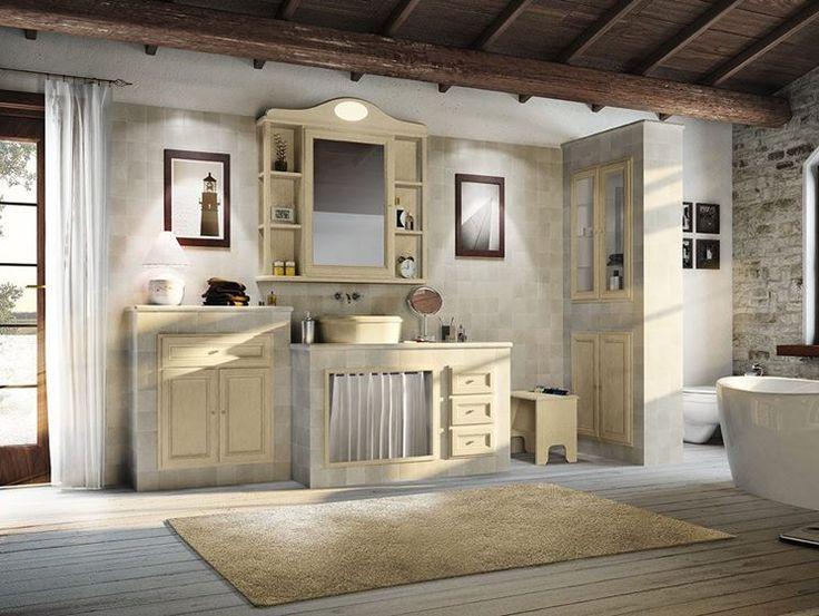 87 best Bagno images on Pinterest   Bathroom, Half bathrooms and ...