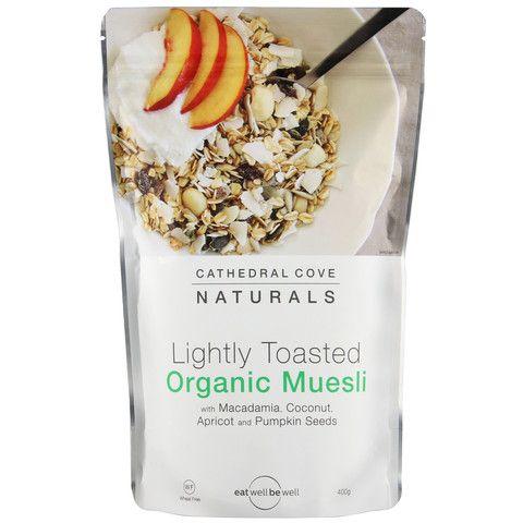 Lightly Toasted Organic Muesli 400g