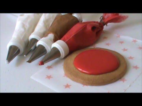 Cómo Hacer Royal Icing Para Decorar Bombones, Galletas, y más (3 Ideas) - Madelin's Cakes - YouTube