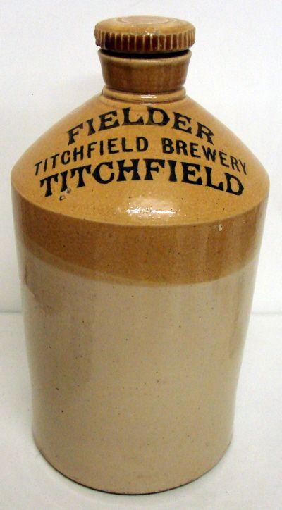 Fielder Titchfield Brewery Flagon Of Ale Beer Beer Brands Brewery Beer