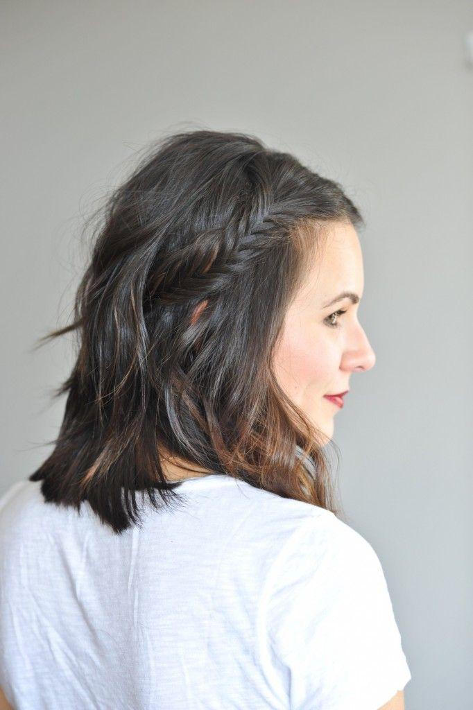 Wondrous 1000 Ideas About Braid Short Hair On Pinterest Cornrow Short Short Hairstyles Gunalazisus
