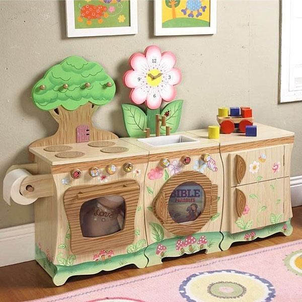 Toddler Kitchen Set Teamson Kids Forest