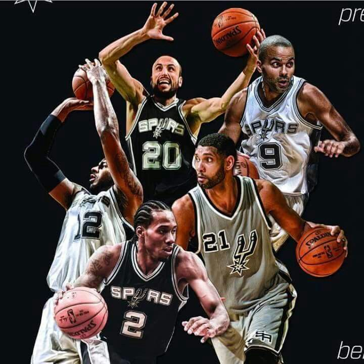 San Antonio Spurs 2015. Go Spurs Go