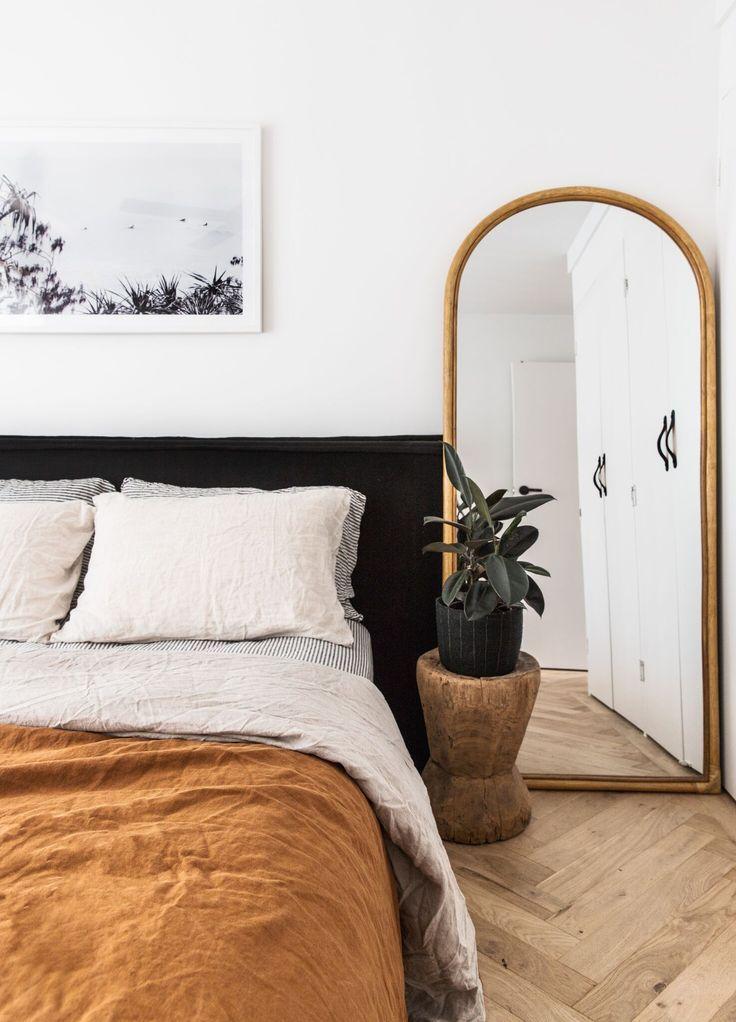 Ultraluxuriöser Bettbezug aus 100% reinem französischen DOPPELSEITIGEN Leinen in Oliv / Streifen