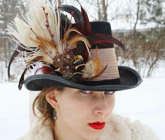 mad hatter top hat alice in wonderland top door WildRoseAndSparrow