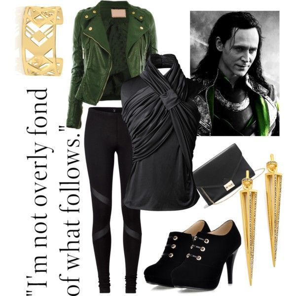 """LOKI - Marvel's The Avengers & Thor"" by katieechill on Polyvore"