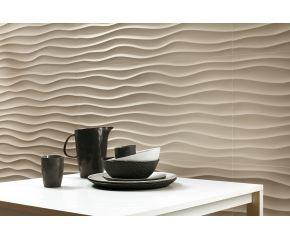 """3D Wall Design """"3D Dune Sand 80"""" 40 x 80"""