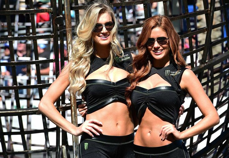 Best of: Monster Energy girls at the track  Tuesday, May 16, 2017  Daytona International Speedway  Photo Credit: Getty Images  Photo: 7 / 20