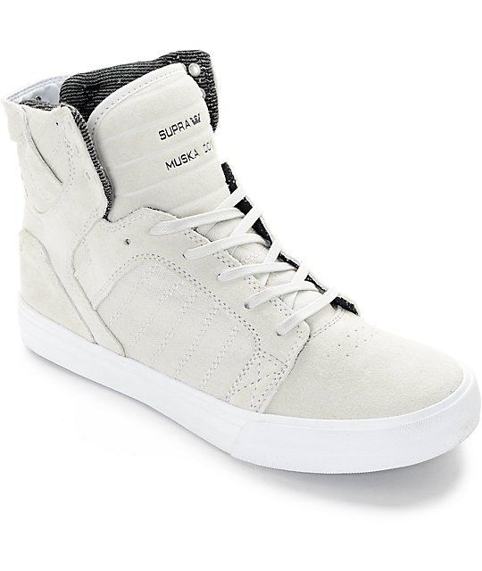 Sneakers W-Skytop Black Brogue - Black Supra 38 EU Donna