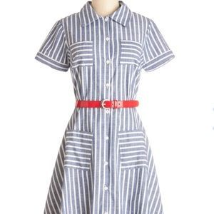 ($75 - inclusive of US shipping) ModCloth Dresses & Skirts - Myrtlewood Modcloth Brand New Bookstore Dress XL