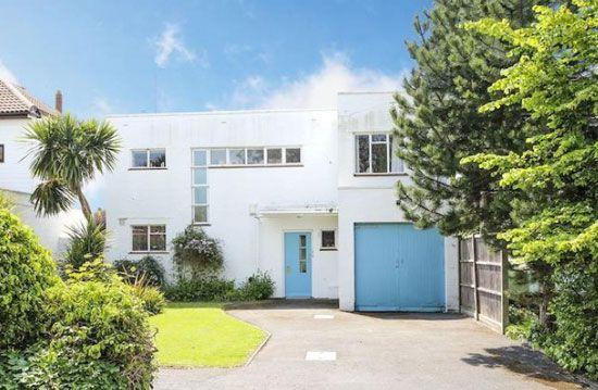 1930s Eugen Carl Kaufmann-designed modernist property in Angmering-on-Sea, West Sussex