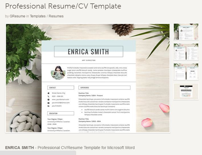 126 best Job Resume Templates \ Tips images on Pinterest Resume - templates for resumes microsoft word