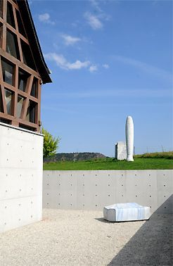 New Stone Sculpture Museum for the Fondation Kubach Wilmsen Bad M nster am Stein Germany