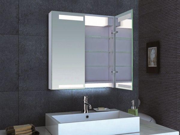 led lampe ideen für spiegelschrank badezimmer | Badezimmer ...