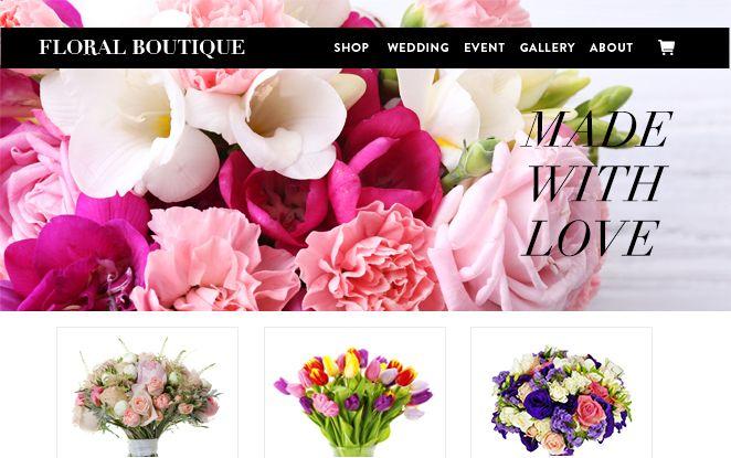 Florist Website Florist Website Florist Wedding Shop
