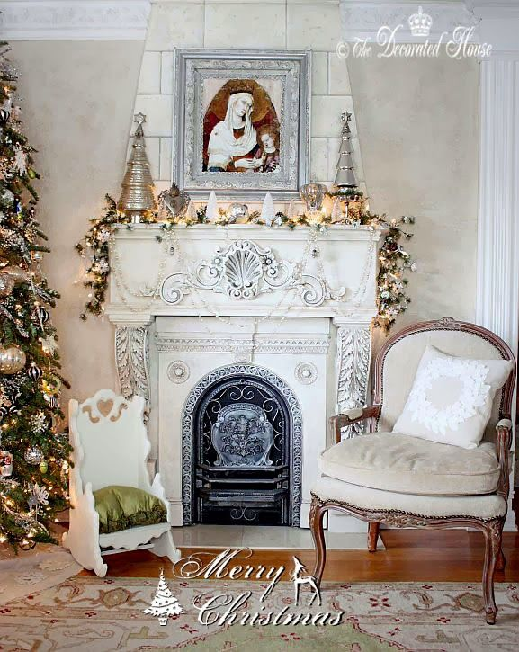 I like this fireplace for a small room. http://thedecoratedhouse.blogspot.com/2013/12/merry-christmas-from-our-home-to-yours.html