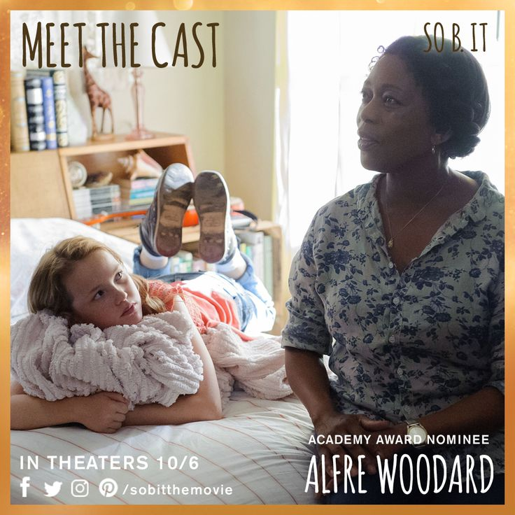 """I don't think Heidi can be Heidi until she does this."" Academy Award Nominee Alfre Woodard is Bernadette, Heidi's nurturing neighbor. #meetthecast #sobit"