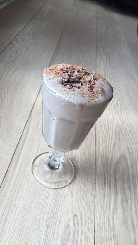 Chocolate and Raspberry Protein Slushee