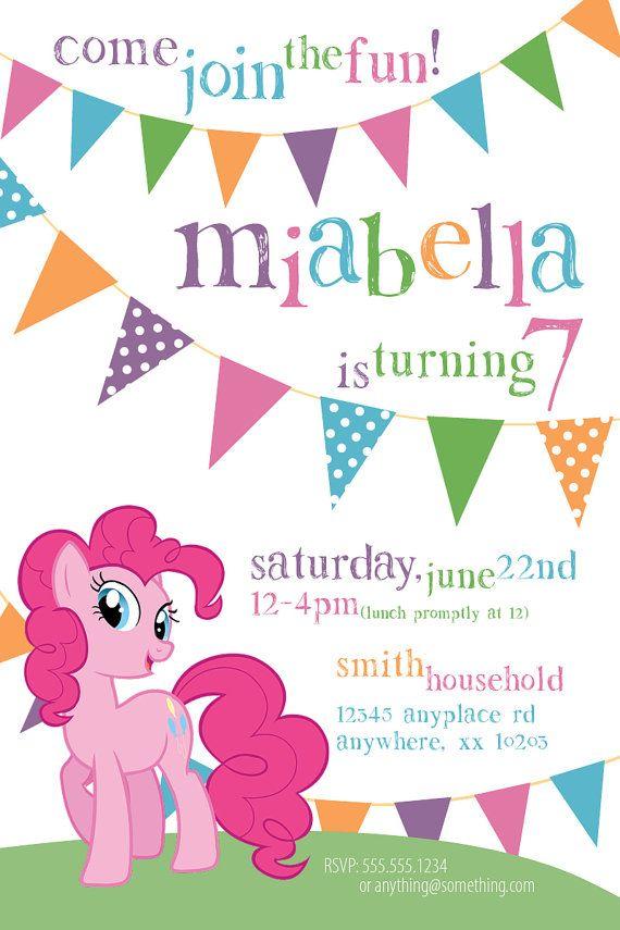 best 25+ my little pony invitations ideas on pinterest | little, Party invitations