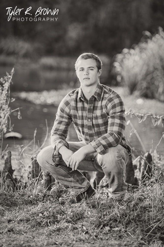 Ethan Luman - Liberty High School - Senior Photos - Ideas for Guys - #seniorpics - Class of 2015 - Black and White - White Rock Lake - Senior Pictures - Pond - DFW - Tyler R. Brown Photography