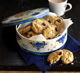 Amerikaanse koekjes met chocolade, macadamia & cranberry. - Overig - Recepten - Koopmans.com