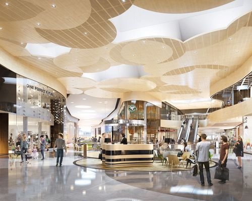 25 best ideas about shopping mall interior on pinterest for Retail interior design