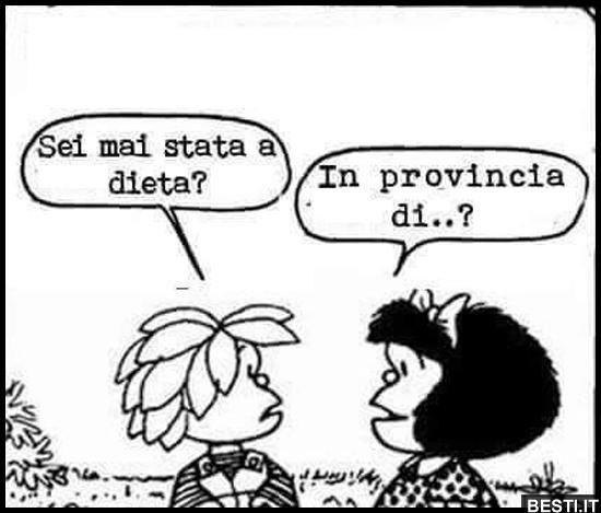 Sei mai stata a dieta