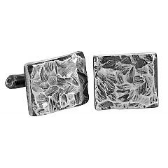 Chip cufflinks in sterling silver - $250 at http://www.lordcoconut.com/shop/chip-cufflinks/