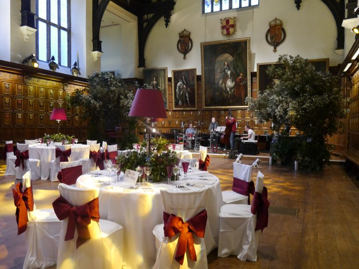 Middle Temple Hall almost ready for wedding guests