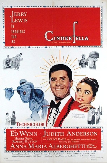 Jerry Lewis stars as an odd but lovable man guided by his fairy godfather in 1960s Cinderfella, a farcical twist on the traditional tale.