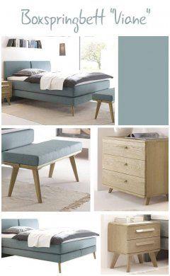 Simplistic Schlafzimmer Set Mit Boxspringbett Haus Dekoration